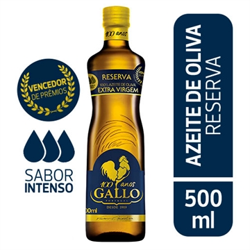AZEITE GALLO RESERVA EXTRA VIRGEM 500ML
