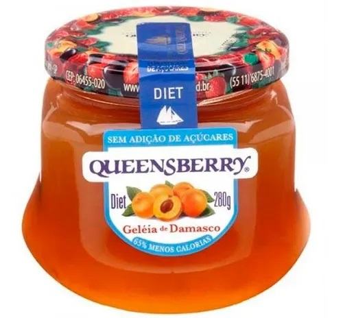 GELEIA QUEENSBERRY DIET DAMASCO 280G