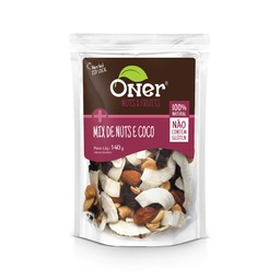 [50231] MIX NUTS E COCO ONER 140G