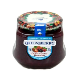 [25059] GELEIA QUEENSBERRY DIET FRUTAS VERMELHAS 280
