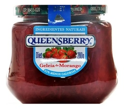 [3369] GELEIA QUEENSBERRY DIET MORANGO 280G
